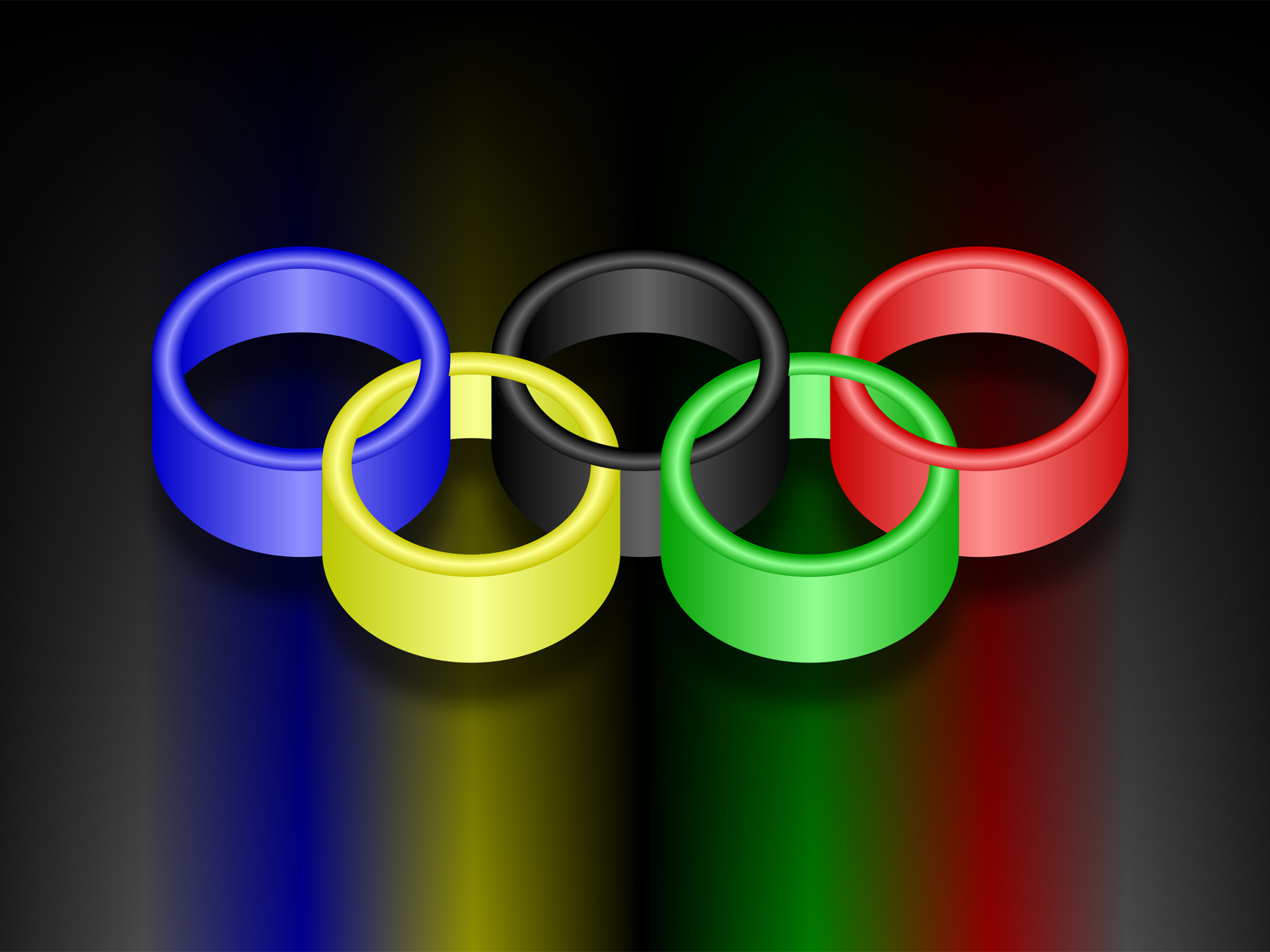 world olympic rings backgrounds games sports templates free ppt