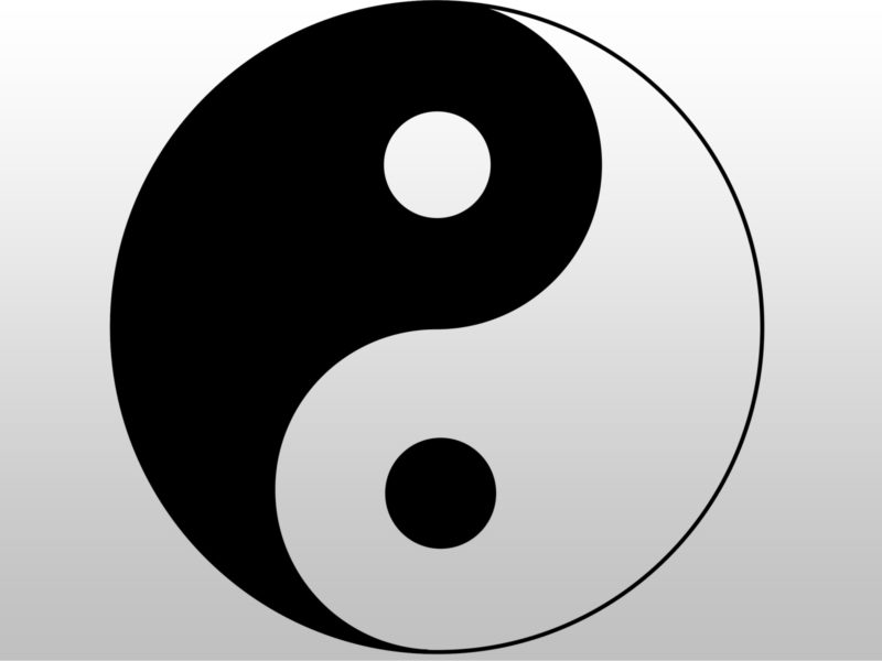 Ying Yang Design Backgrounds