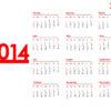 2014 Year Calendar Backgrounds