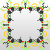 Abstract Frame Decoration Backgrounds