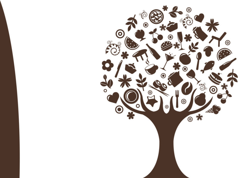 Abstract Tree Backgrounds PPT