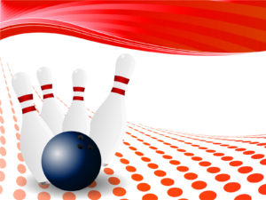 Bowling Pin Powerpoint Design