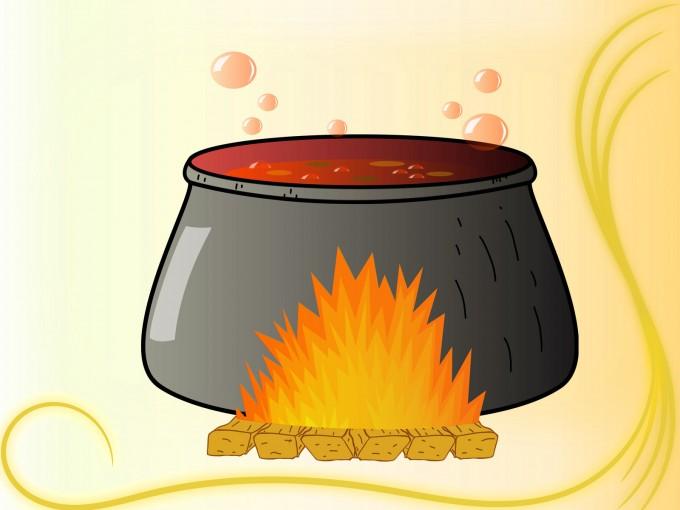 Bubbling Cauldron PPT Backgrounds