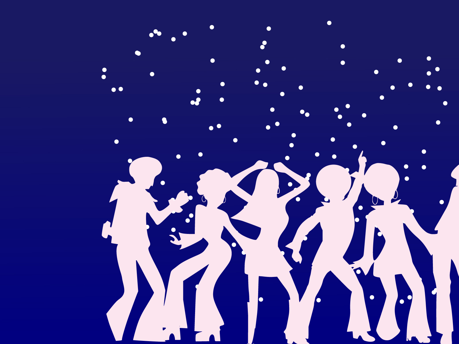 Disco dancers for party ppt backgrounds holiday music templates download background toneelgroepblik Gallery