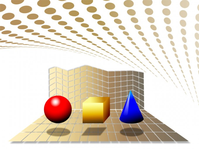 Geometry Lesson PPT Backgrounds