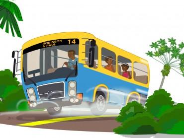 Island school bus