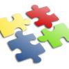Jigsaw Puzzle Powerpoint Slide Design