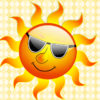 Summer Smile Sun PPT Backgrounds
