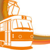 Tramway Transportation PPT Backgrounds