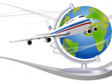 Travel Globe Powerpoint Templates