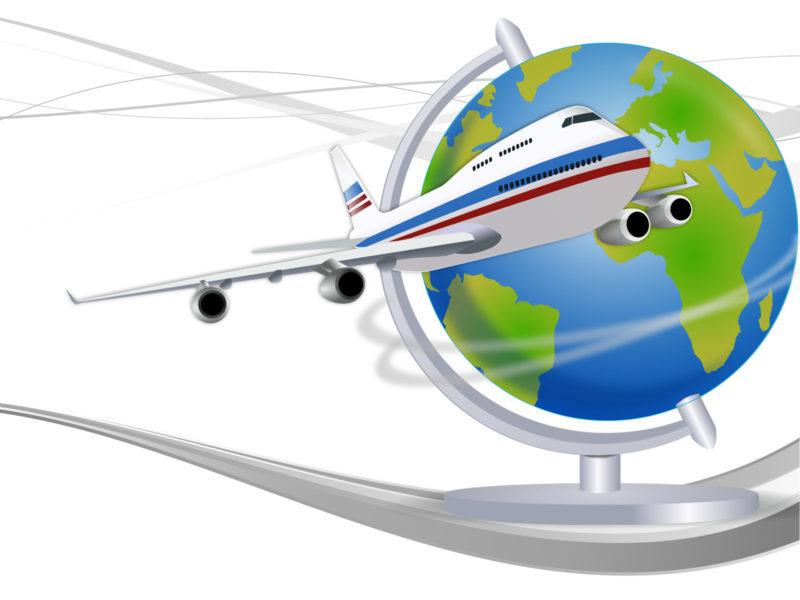 Travel Globe Powerpoint Templates