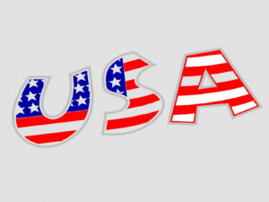 USA Patriotic Flag Backgrounds PPT