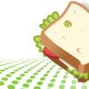 Vegetarian Sandwich PPT Backgrounds