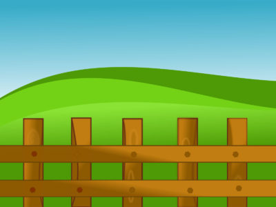 Agriculture Farm Fence PPT Backgrounds