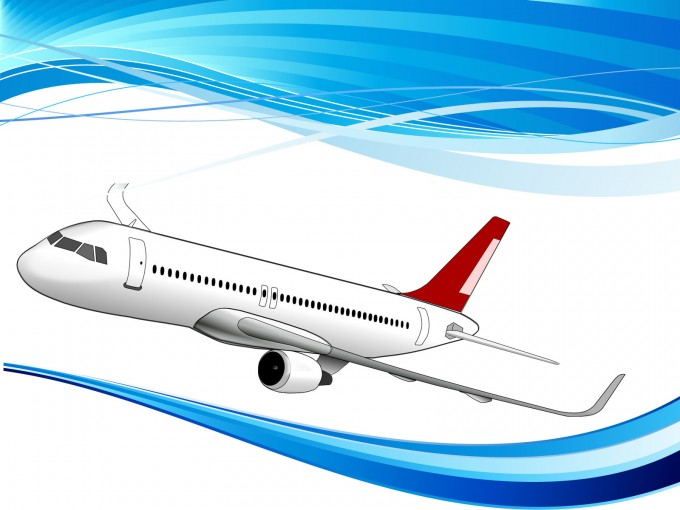 Air Bus Powerpoint Template PPT Backgrounds