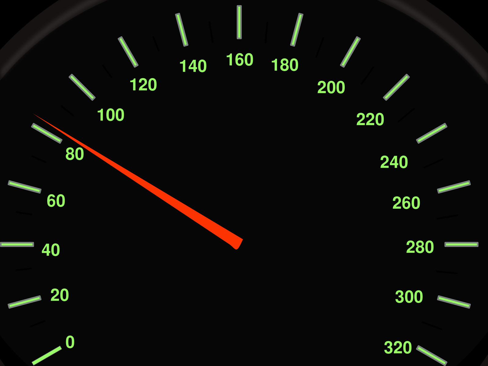 Auto Speed Meter PPT Backgrounds