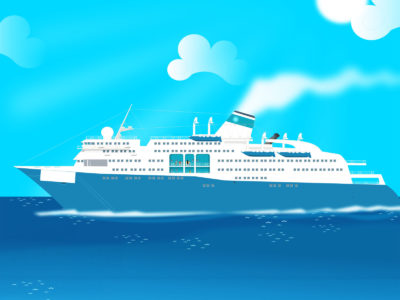 Cruse Boat Powerpoint Design