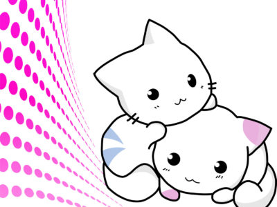 Cuty Cats PPT Backgrounds