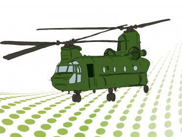 Military Tranport Helicopter