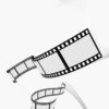 Movie Film Strips Backgrounds