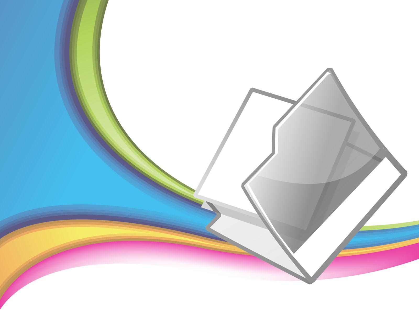 Open Folder PPT Backgrounds