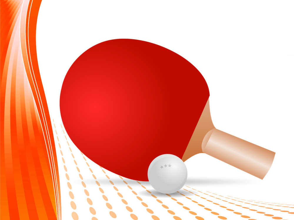 Table Tennis Ppt Backgrounds Sports Templates Ppt Grounds