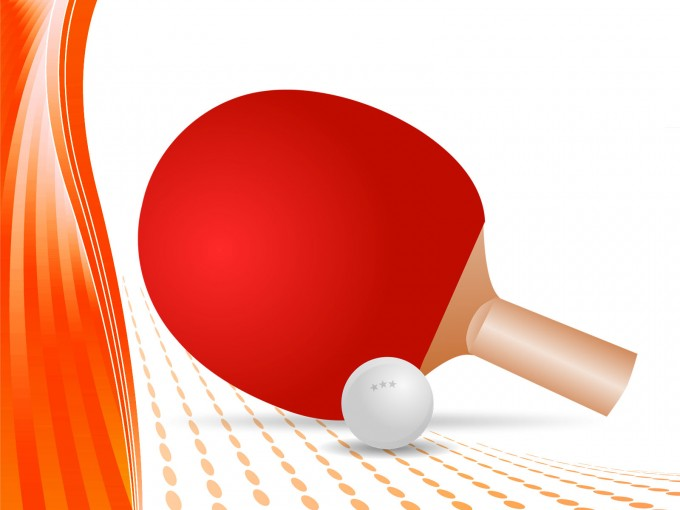 Table Tennis PPT Backgrounds
