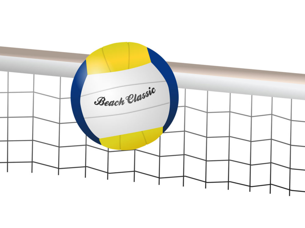 Background Abstract Volleyball Blue Yellow Ball Frame: Volleyball Beach Classic Backgrounds