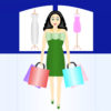 Woman Shopping PPT Backgrounds
