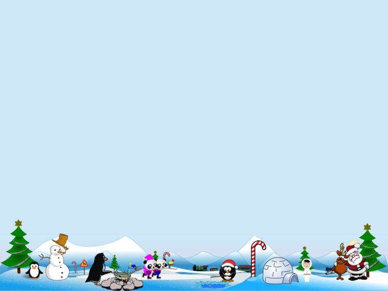 Artic North Pole Scene for Holidays Backgrounds