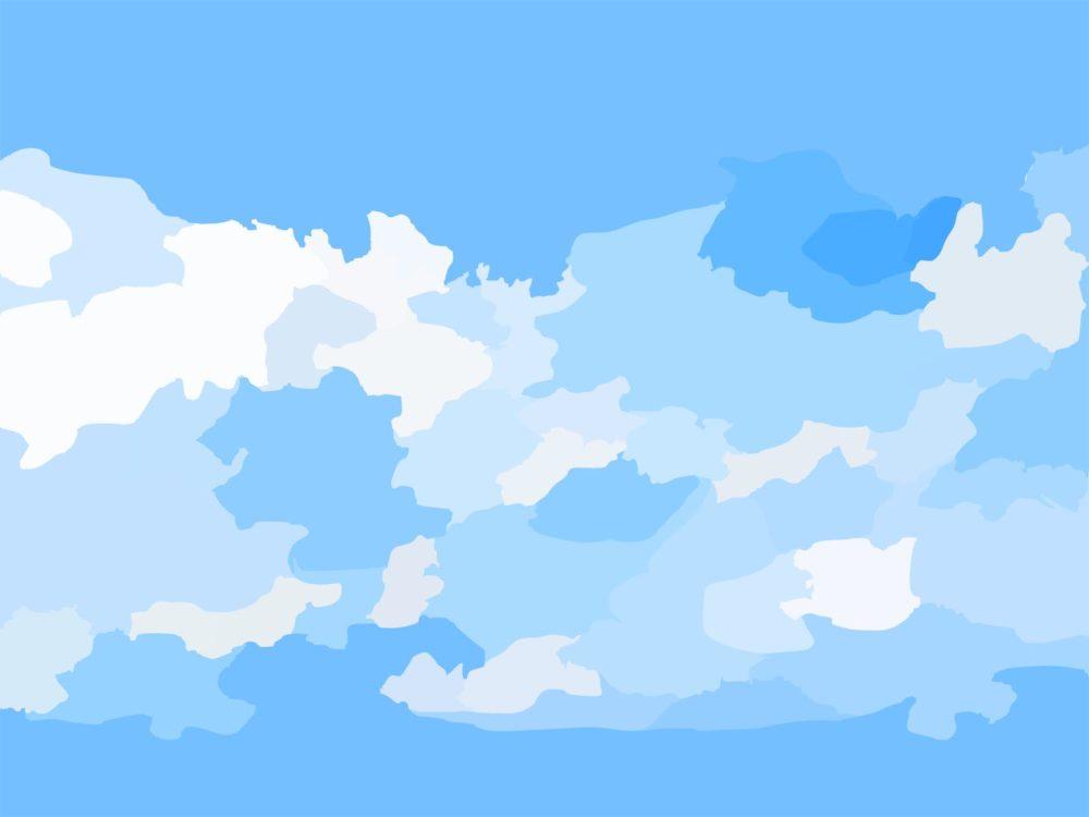 presentation background blue