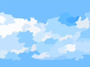 Blue Sky Texture PPT Backgrounds