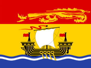 Canada - New Brunswick Flag Backgrounds
