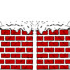 Chimney with Snow Powerpoint Design