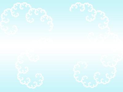 Fractal Clouds PPT Backgrounds