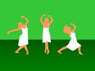 Girl Dance Sport Powerpoint