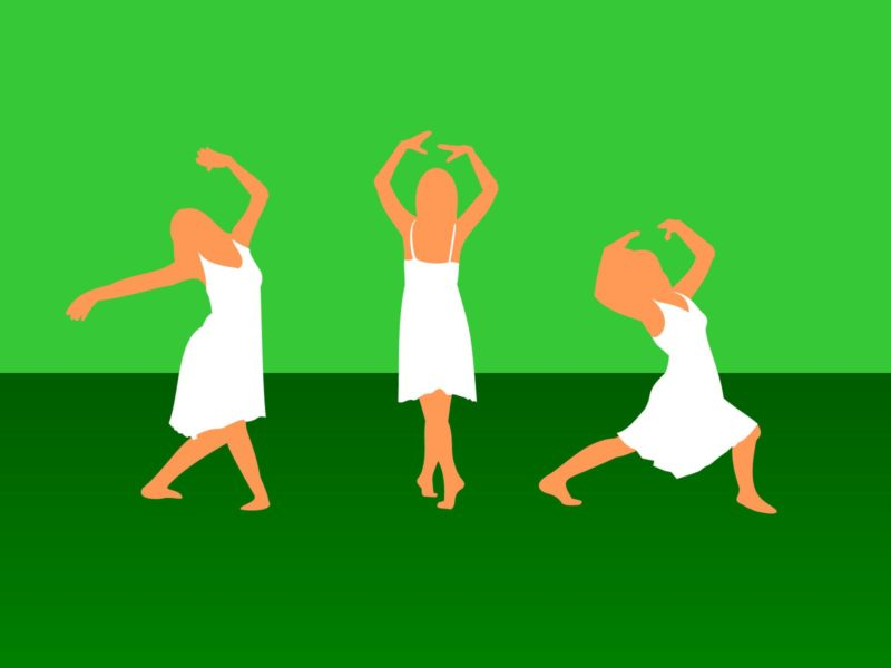 Girl Dance Powerpoint Backgrounds