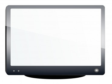 Glossy Television Frame