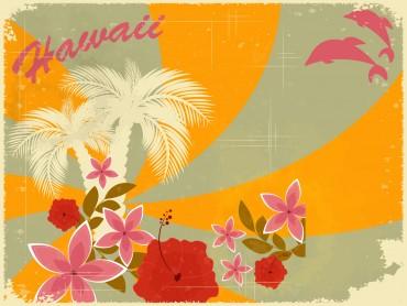 Hawaiian Retro Holiday