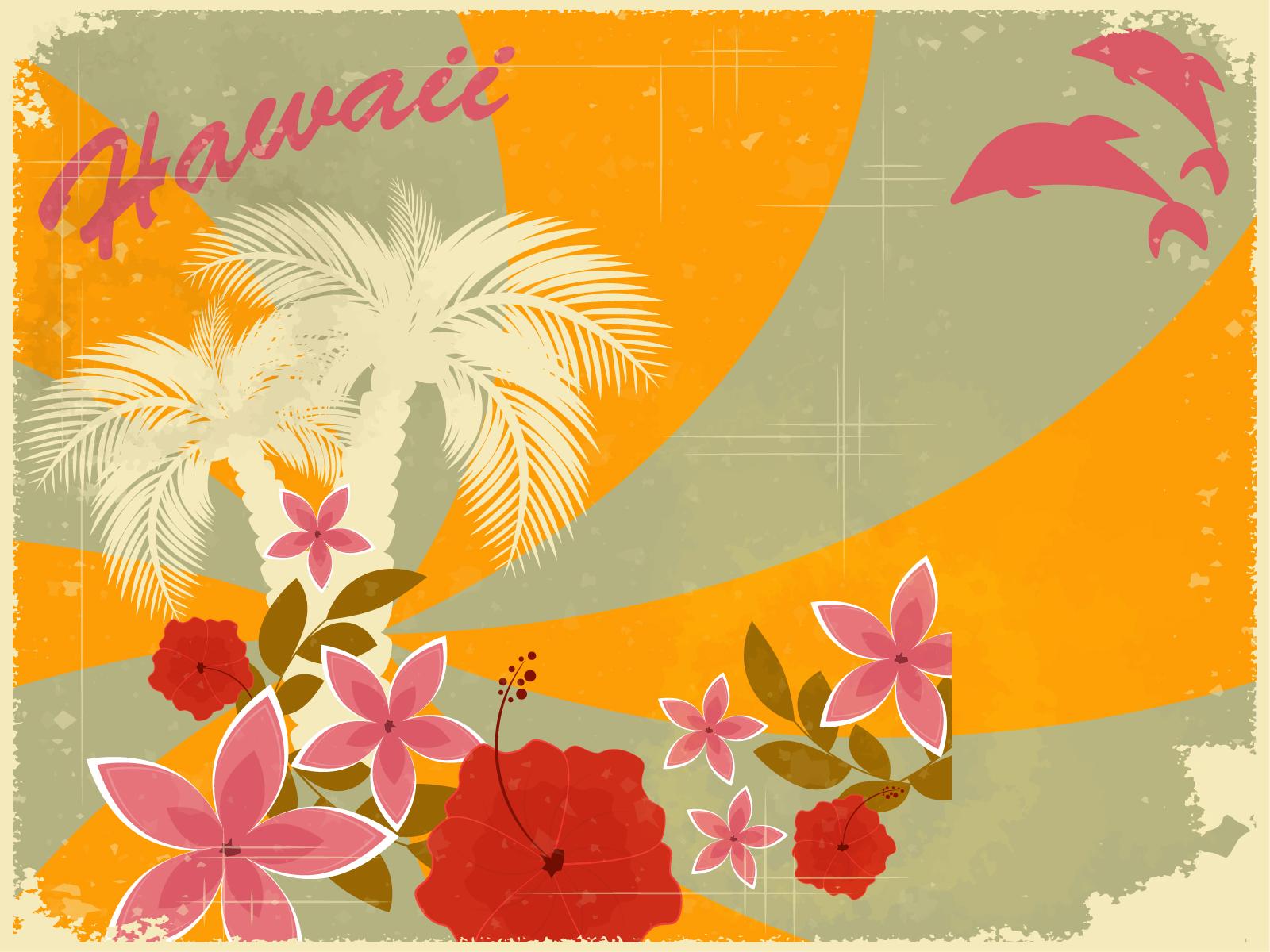 Home Design Games Big Fish Hawaiian Retro Holiday Backgrounds Design Holiday