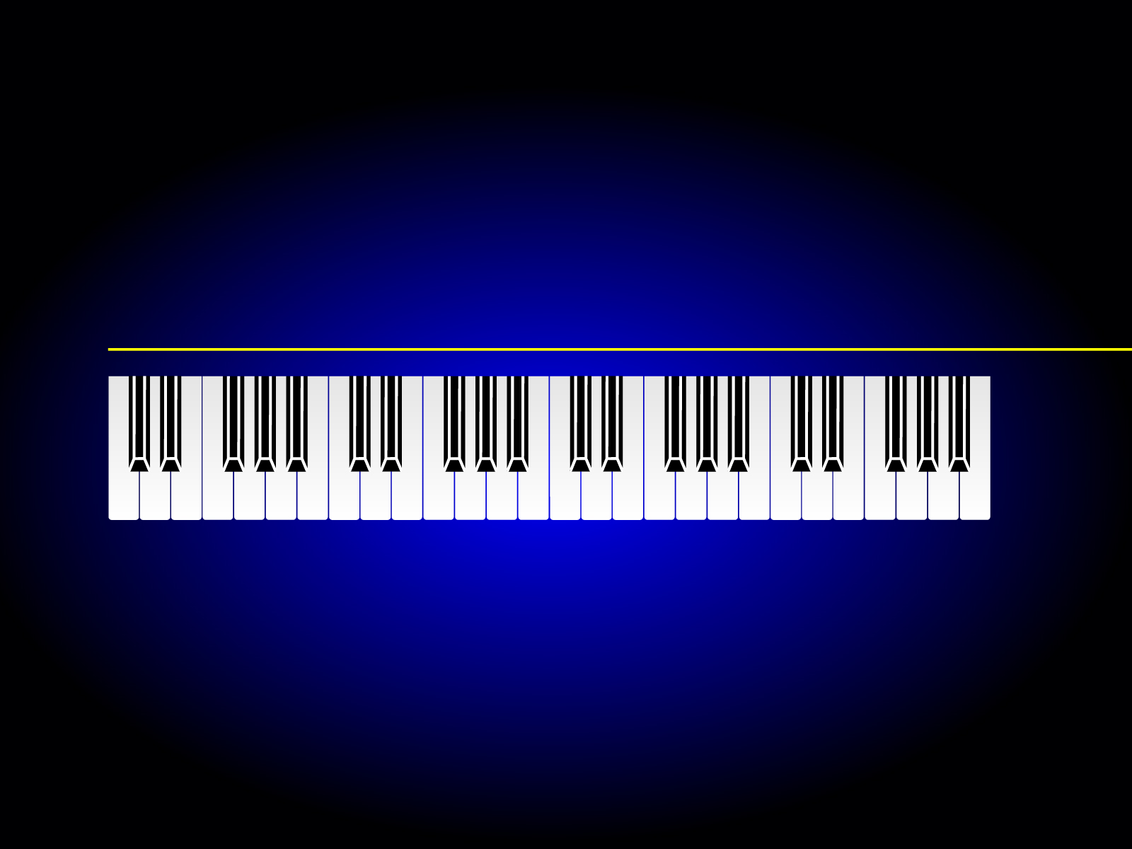 Music Piano Bar Powerpoint Backgrounds