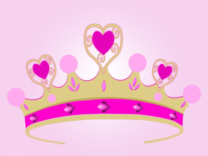 Princess Crown PPT Backgrounds
