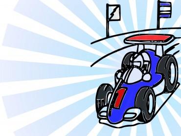 Racer Car Presentation