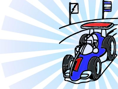 Racer Car PPT Templates