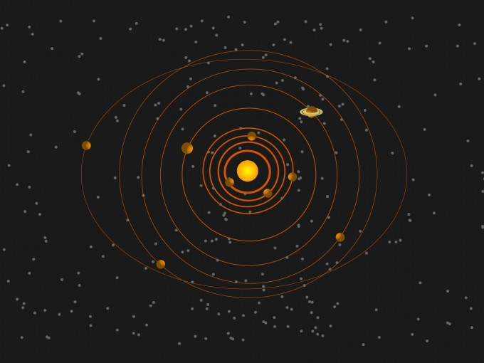 Solar System Powerpoint Design PPT Backgrounds