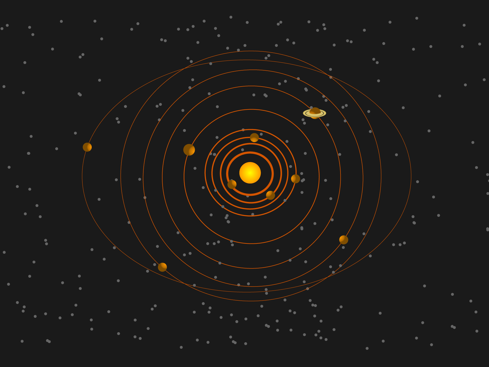 solar system backgrounds black engineering powerpoint templates