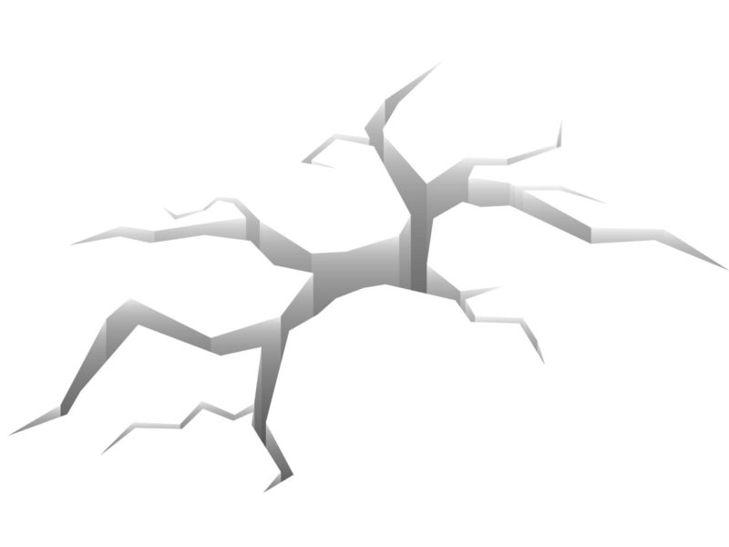 White Crack Effect Backgrounds