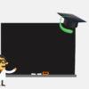 Blackboard - School subjects PPT Backgrounds