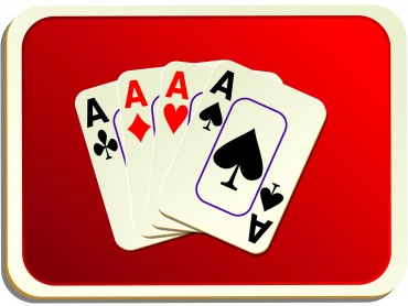 Card Backs Red Cards Games