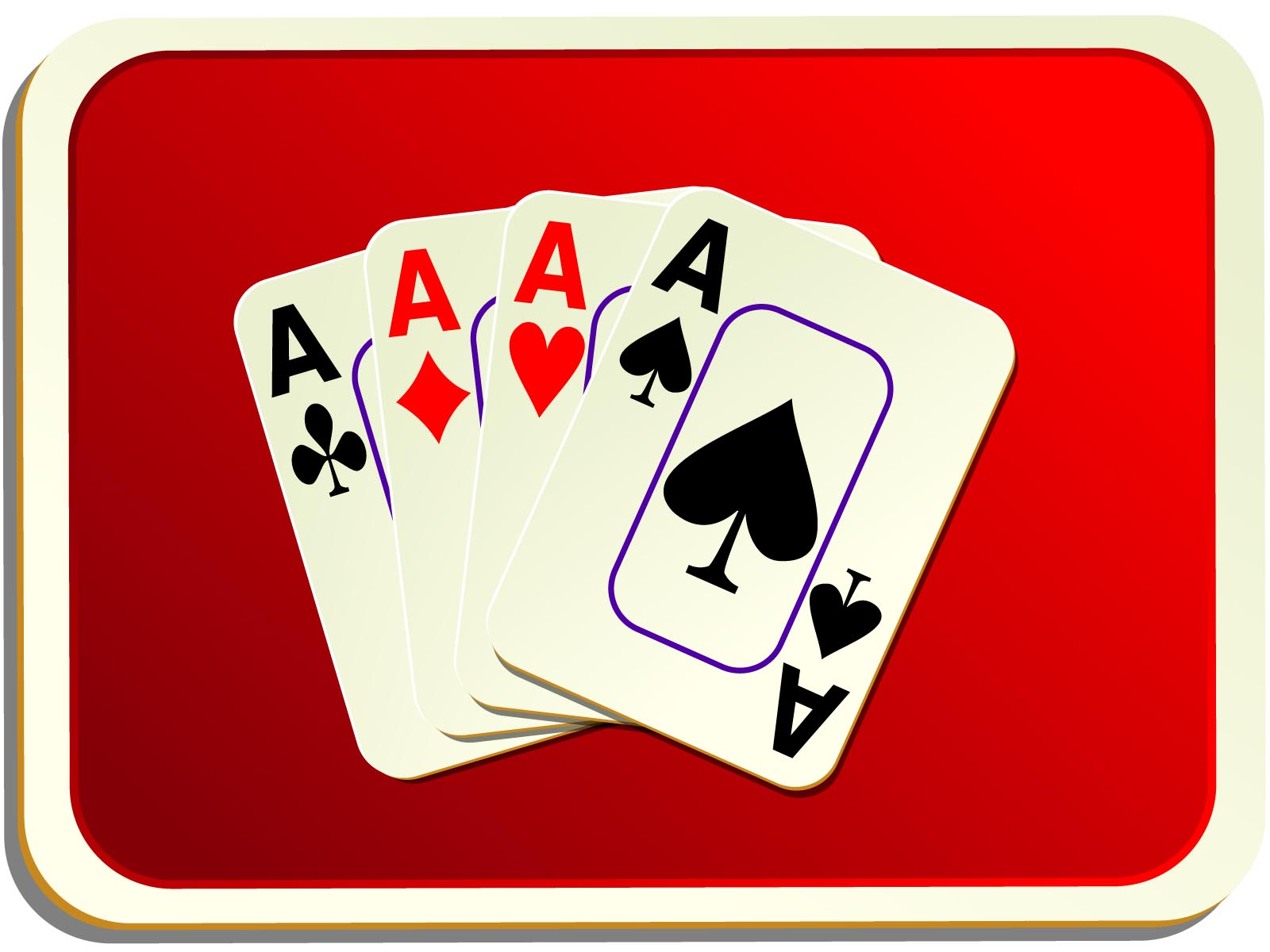 Card Backs Red Cards PPT Games